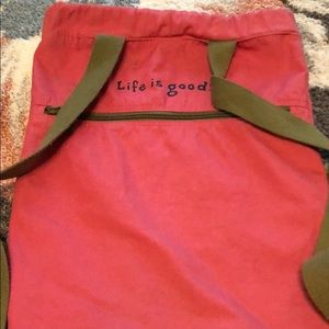 Life Is Good Bags - Life is good drawstring backpack